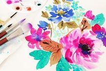 Floral Art / by Crystal Walen Artist