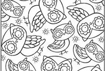 Kolorowanki dla drosłych / coloring pages adult / Darmowe kolorowanki dla dorosłych znalezione w internecie. Twój sposób na stress. coloring pages adult