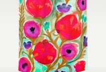 Shower Curtains / by Crystal Walen Artist