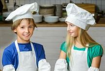 Cooking with Kids / Fun and easy recipes to try with children.