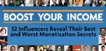 Boost Your Income: Influencers Reveal Their Monetization Secrets / Making a living from an online business is a dream many share. We all have to explore our own potential but the good news is we don't have to do it alone. Hear from people who've demonstrated real success in their online businesses as they answer 2 questions... What has been your most effective monetization technique, and your least? The result is an valuable collection of proven monetization strategies we can all learn from.