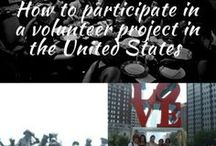 Volunteer in the United States / For more details check: http://thelifestylehunter.com/participate-volunteer-project-united-states/