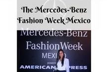 The Mercedes-Benz Fashion Week Mexico / For more details check: http://thelifestylehunter.com/go-mercedes-benz-fashion-week-mexico/