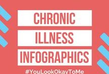 Chronic Illness Infographics / This board contains infographics that give tips and tricks for people who suffer from chronic pain illnesses.