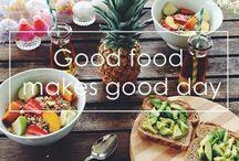 Food / Good food makes a good day