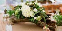 """Mariage champêtre - rustique / De belles idées vers des mariages """"grandeur nature"""" ..."""