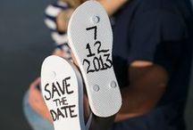 Save the date / Diverses possibilités d'annoncer votre grand jour !