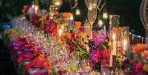 Arc en ciel ❤ / De belles idées colorées pour un événement joyeux !