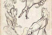 полезное для художника / референсы, уроки и примеры по рисунку и живописи