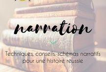 Narration | Stories / Comment sont racontées les belles histoires? Schémas narratifs, structure, conseils d'auteurs...