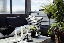 Patio + Balkony