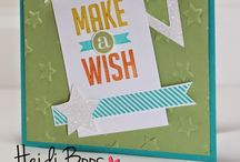 Handmade Cards / Stamping, die cutting, paper crafts
