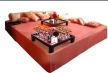 Ottomans and Beds / by Revelry Event Designers