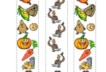Thanksgiving Printables / by Nourish Interactive