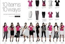 Fashion ~ Capsule Wardrobes.