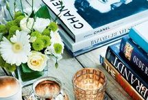 bookcases, coffee tables & vignettes. / by Whitley Foster