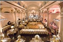 Cream and Gold Wedding at Vibiana / by Revelry Event Designers