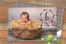New Baby / All things Newborn, Birth Announcements, Christening Invitations, Baby Naming