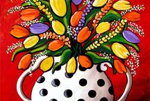 Paint and Sip Party Spring/Easter / by Darla Kobasko