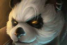 Pandaren Group Board / All about Pandaren. Lore, clans, tribes, guides, resources, inspirations, quotes and images.  If you would like to join any of my boards send me an email at katieajb@gmail.com with your pinterest URL and the boards you would like to join!