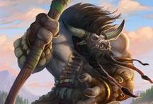 Tauren Group Board / All about Tauren. Lore, clans, tribes, guides, resources, inspirations, quotes and images.  If you would like to join any of my boards send me an email at katieajb@gmail.com with your pinterest URL and the boards you would like to join!