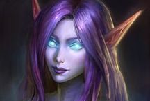 Night Elves Group Board / All about Night Elves. Kaldorei lore, clans, tribes, guides, resources, inspirations, quotes and images.  If you would like to join any of my boards send me an email at katieajb@gmail.com with your pinterest URL and the boards you would like to join!