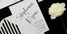 Wedding invitations by Polka Dot Paper /  Our collection of existing wedding invitations.