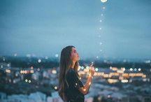 Fairy lights aesthetic