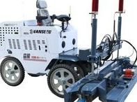 Concrete laser screed Concrete laser paving and leveling machine / Vanse Machinery Web:www.vansemac.com Email: itd@vanse.cc