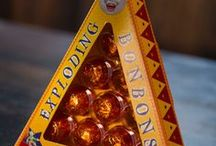 HP Food & Drinks & Games / I could do with some exploding bon bons right now or a chocolate frog or a cauldron cake