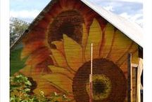 BARN QUILT LOVE / BaRn LoVe~QuiLt LoVe~BaRn QuiLt LoVe! / by Vicki @More Powerful Beyond Measure