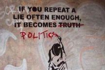 """Politics."" / by Kelsie Rudolph"