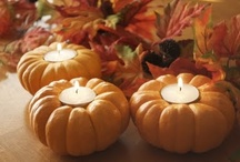 It's Fall, Y'all! / A mishmash of Halloween/Thanksgiving decor and dishes.