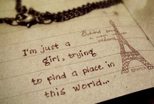 me / Things I love, things I want.