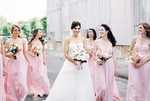 Blush / Our very own Union Station dresses in the color Blush plus a little color palette inspiration! See more at www.unionstation.com