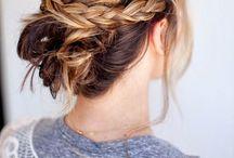 Hair / Hair, waves, curls, braids, bangs, hairdos.