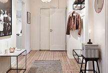 Home - Entering / Home decoration, interior design, hallway, entrance.
