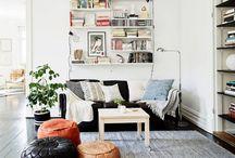 Home - Living / Home decoration, interior design, living room.