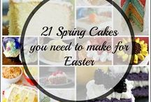Easter / Easter Recipes and DIYs for your spring celebrations