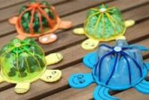 Crafting from Recycled Materials / Go green by reusing plastics to create something beautiful and useful. / by NC Aquarium at Fort Fisher