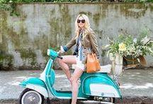 Scooters & Motorcycles / Vespa // Vroom Vroom // Style