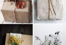 Gifts / Presents // Birthdays // Holidays