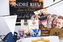 "Andre Rieu's ""Love in Venice"" Party / TO CELEBRATE THE LAUNCH OF ANDRE'S NEW ALBUM, ""LOVE IN VENICE"", WE WILL BE GIVING PEOPLE ALL OVER THE UK THA CHANCE TO BE PART OF ANDRE RIEU'S WEEK OF WALTZ PARTIES.  We can't wait to get the whole country waltzing, and will provide you with everything you could possibly need to be part of this national celebration led by the King of the Waltz himself, André Rieu.  André Rieu's Week of the Waltz parties will run all week from Saturday 1 November to Sunday 9 November."