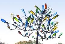 BottleTREES / BoTtLe TrEeS;  BoTtLe SCuLpTuReS; BoTtLe DeSiGns / by Vicki @More Powerful Beyond Measure