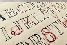 Type and Lettering / Typography, Calligraphy, Lettering, Hand Lettering, Letters, Typefaces, Communication, History, Art