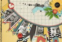 fab scrapbook layouts / by Mary Engelman