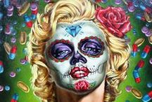 """Day of the Dead: Art of Día de los Muertos 2015 / A journey through life, love and death, """"Day of the Dead: Art of Día de los Muertos 2015"""" features contemporary installations by CA artists Francisco Franco, John Huerta, David Lozeau, Rob-O and Mary Southall highlighting the Mexican cultural tradition of honoring deceased loved ones by creating calaveras de azúcar (sugar skulls), altares de muertos (altars of the dead) and ofrendas (offerings), a tradition that has evolved from the Aztecs to modern day California. Open Aug. 18-Nov. 29, 2015. / by California Museum"""
