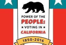 """Power of the People: Voting in California, 1850-2016 / Developed in partnership with the California State Archives, """"Power of the People: Voting in California, 1850-2016"""" is an all new exhibit chronicling 165 years of election history in the Golden State. Just in time for the 2016 elections, it surveys the evolution of how we vote, who votes, and the methods campaigns use to win our vote, from the state's founding to today. For more information, visit http://www.californiamuseum.org/voting-california. #VoteCA #2016election #VotingInCA / by California Museum"""