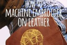 Embroidery / Ideas, advice and tips for embroiderers and garment decorators