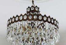 Home - Chandeliers / Pretty Lights // Vintage // Twinkle